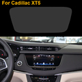 Car Styling Trapezoid 10.2 inch GPS Navigation Screen Steel Protective Film For Cadillac XT5 Control of LCD Screen Car Sticker
