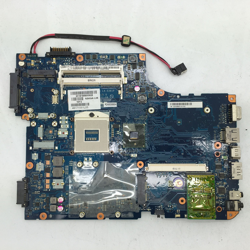 MOTHERBOARD FOR TOSHIBA Satellite A500 A505 K000093520 HM55 NSKAA LA-5361P D05 100% TESTED GOOD audi a4 a5 q5 intro chr 4244