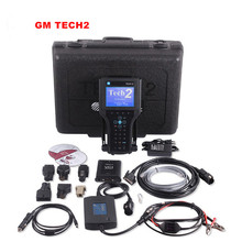 2017 Высокое Качество GM TECH2 Полный Комплект Поддержка 6 Программное Обеспечение (GM, OPEL, SAAB ISUZU, SUZUKI, ХОЛДЕН) GM Tech 2 Сканера