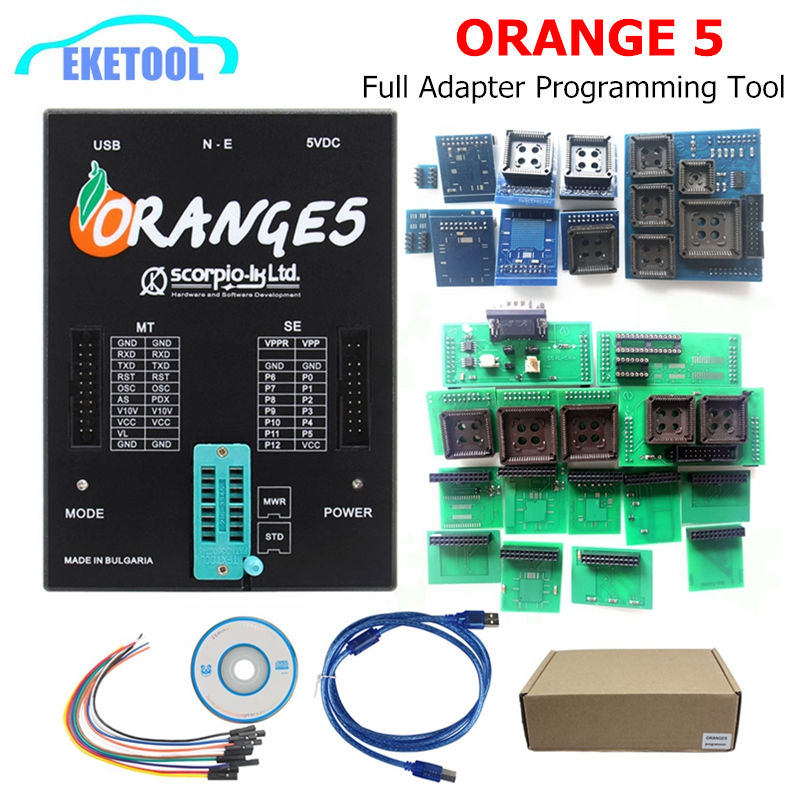 Earnest New Oem Orange5 With Full Adapter Professional Full Packet Hardware + Enhanced Function Software Orange 5 With Russian Factories And Mines