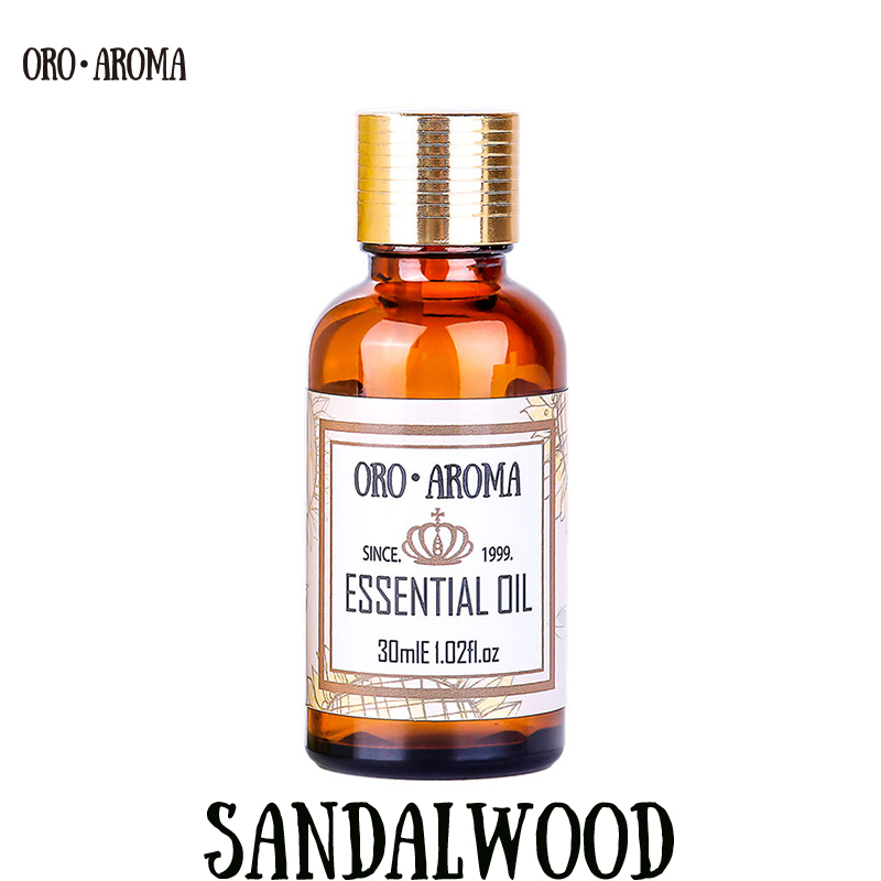 Famous Brand Oroaroma Natural Sandalwood Essential Oil Sore Throats Bronchitis Improv Urinary System Sexual Sandalwood Oil