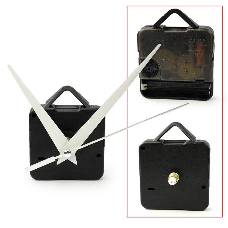 1 conjunto diy relógio movimento relógio de quartzo mecanismo relógio de parede movimento peças reparação substituição acessórios essenciais