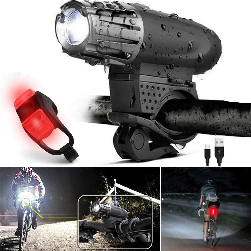 Tail Lights Waterproof Safety Silicone Bicycle Light222668996247 Caution Solar