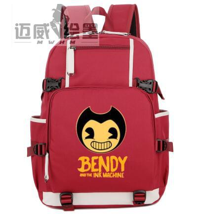 f05fd4a777 Bendy and The Ink machine backpack Game student school bag women Notebook  Daily Teenage Girl Backpacks men shoulder travel bag-in Backpacks from  Luggage ...