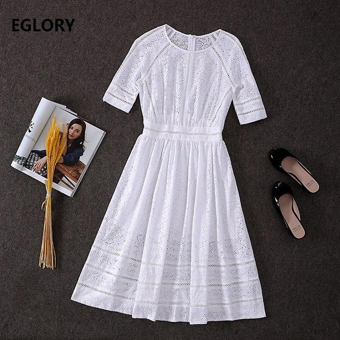 Плаття з вишивкою 2019 Нові модні - Жіночий одяг