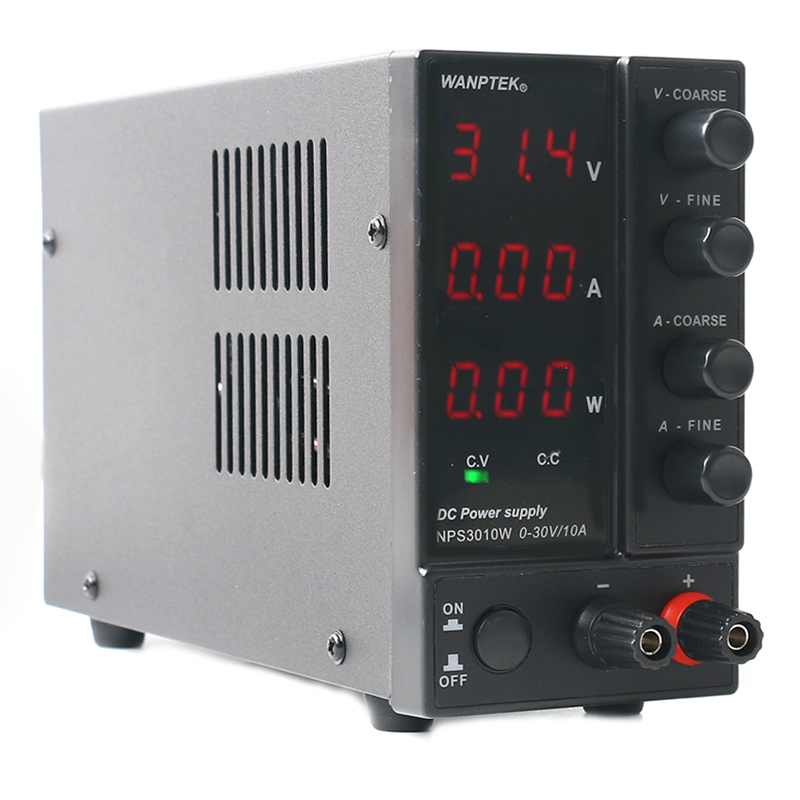 NPS306W/3010W/605W/1203W Adjustable 30V/60V/120V 3A 5A 6A 10A Regulated Lab DC Switching Power Supply 0.1V/0.01A/0.01W-3