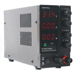NPS306W/3010W/605W/1203W Einstellbare 30V/60V/120V 3A 5A 6A 10A Geregelte Labor DC Schalt Netzteil 0,1 V/0,01 A/0,01 W