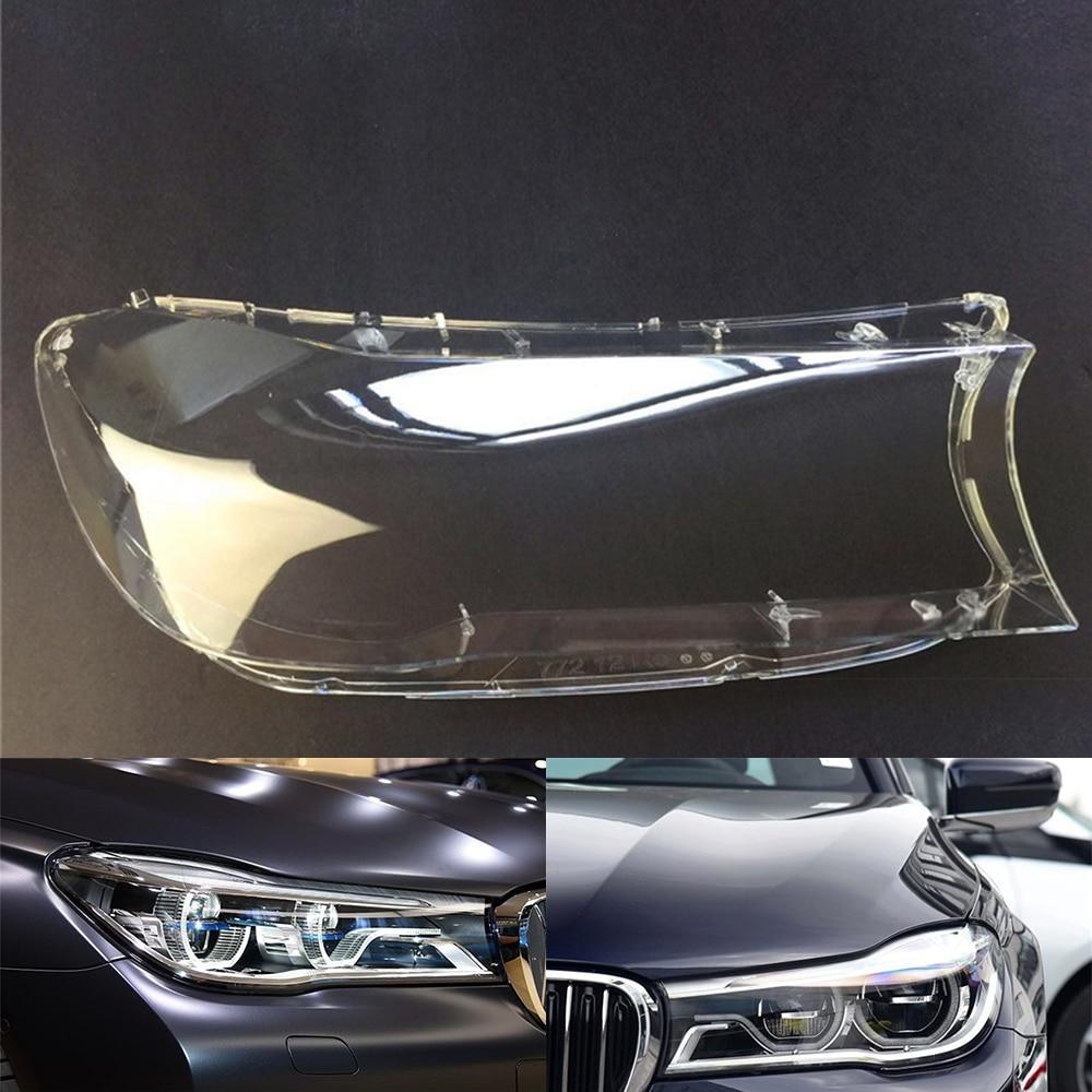 For BMW 7 Series G11 G12 730 740 760 2017 2018 Car Headlight Headlamp Clear Lens