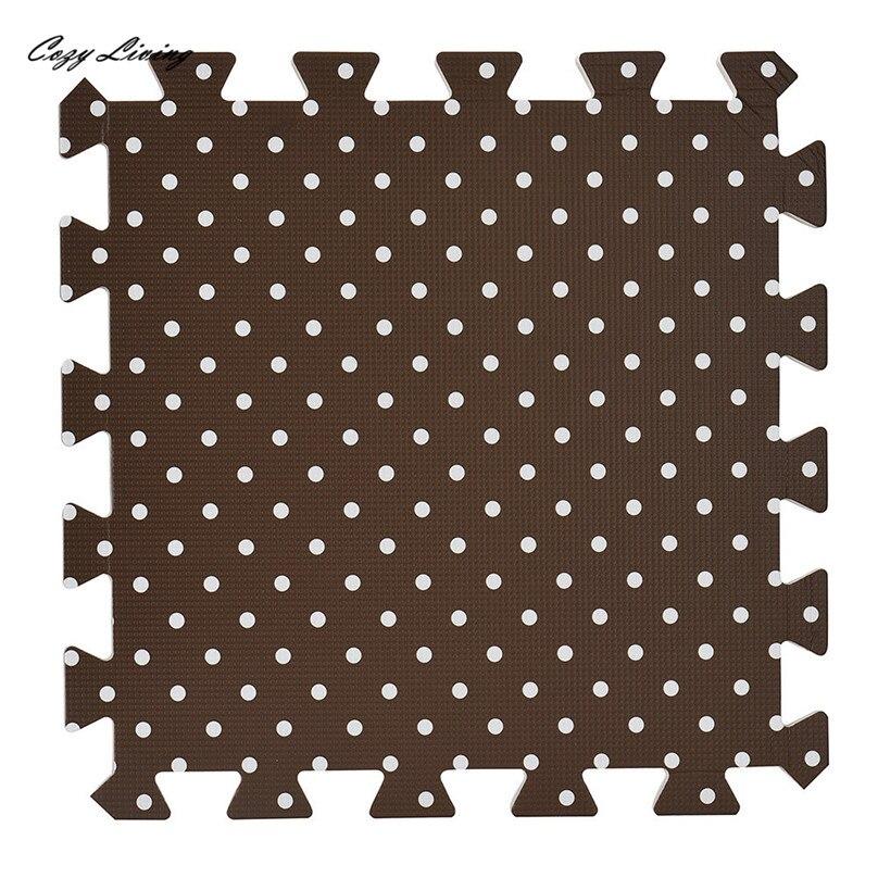 Rompecabezas Alfombra 1 PC 30 * 30 CM Salón Dormitorio Niños Suave - Textiles para el hogar