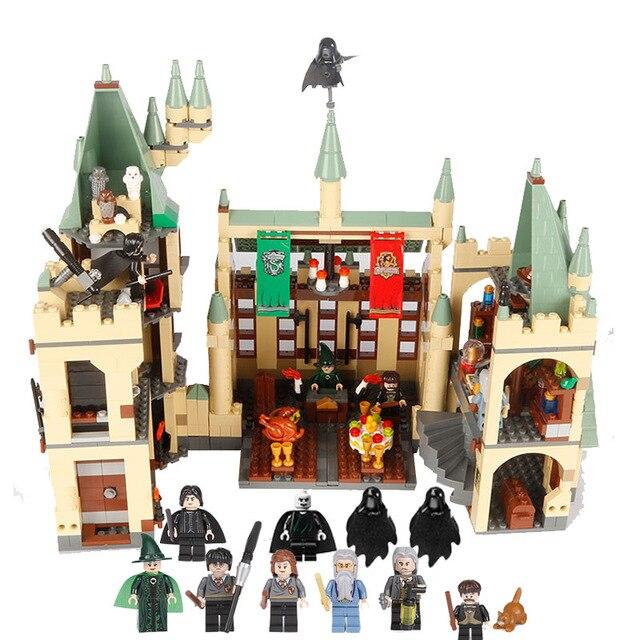 CX 16030 1340 pièces Modèle kits de construction compatible avec Lego 4842 Harry Potter Poudlard Château 3D Briques figure jouets pour enfants