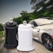 ФОТО 5v 2.1a car charger power adapter dual usb 2-port mini car cigarette lighter socket charger black