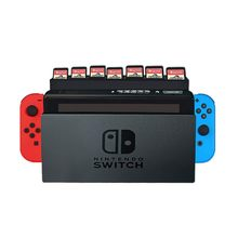 Portable Memory Card Holder Game Memory Card Storage Case Box Holder Game Card Storage Rack For Nintendo Switch 28 Cards(China)