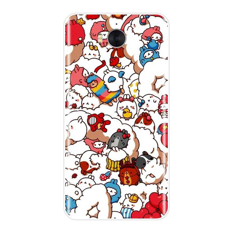 Silicone Case for Huawei Y5 Y6 Y7 Prime 2018 Y9 2019 Soft Cute Unicorn Back Cover for Huawei Y3 Y5 Y6 Y7 2017 II Pro Phone Case IVAN