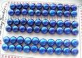 hot sell new - Free shipping wholesale 30pairs Natural 8.5mm blue pearl Earrings!