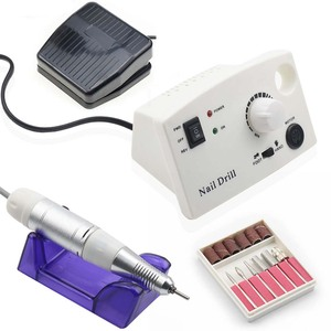 Image 1 - 35000RPM Electric Nail Drill Machine For Manicure And Pedicure Drill 20W Milling Machine Nails Equipment Set Electric Nail File