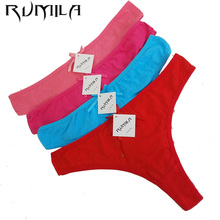 Cotton Women s Sexy Thongs G string Underwear Panties Briefs For Ladies T back Free Shiping