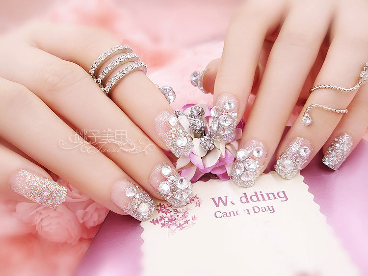 Bijoux pour ongles cats eye bling rhinestone 24pcs nail patch bijoux pour ongles cats eye bling rhinestone 24pcs nail patch nail art short nail tips fake nails finished free shipping in rhinestones decorations prinsesfo Images