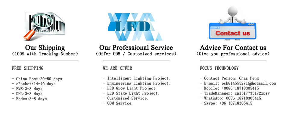 30W High power LED Red 660nm /& Blue 470nm 4:1 For Plant Grow Light Beads 24-26V