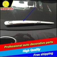 Hlc carro-estilo abs chrome janela traseira limpador capa apto para kia sorento pára-brisas traseiro limpador capa guarnição acessórios do carro