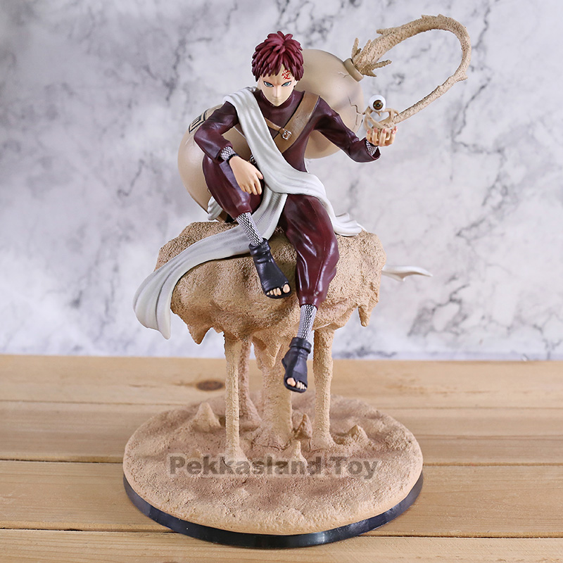 Naruto Shippuden Gaara GK Statue PVC Figure Collectible Model Toy Brinquedos Figurine