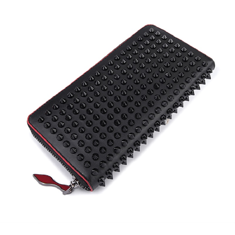 Women Wallet Money Clip Luxury Genuine Leather Wallet Clutch Male Female Long Wallet Coin Holder