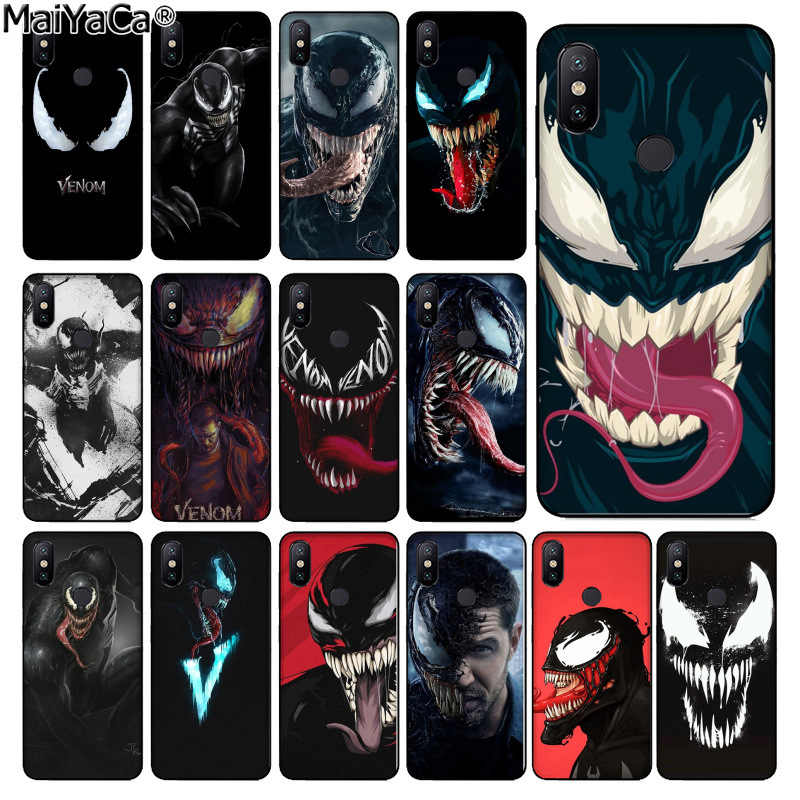 MaiYaCa Marvel Venom Newest Super Hero DIY Phone Case cover Shell for xiaomi mi 6  8 se note2 3 mix2 redmi 5 5plus note 4 5 5