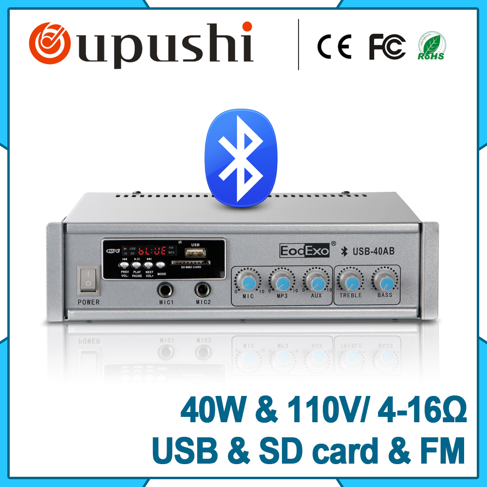 cheap free freight mini audio system 40w usb sd card power amplifier set meal with ceiling. Black Bedroom Furniture Sets. Home Design Ideas