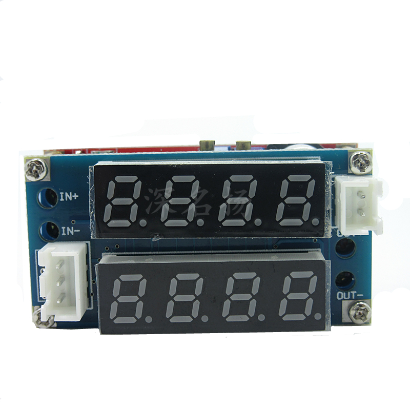 5A constant current and constant voltage LED drive lithium ion battery charging module current voltmeter adjustable power supply xh m603 li ion lithium battery charging control module battery charging control protection switch automatic on off 12 24v
