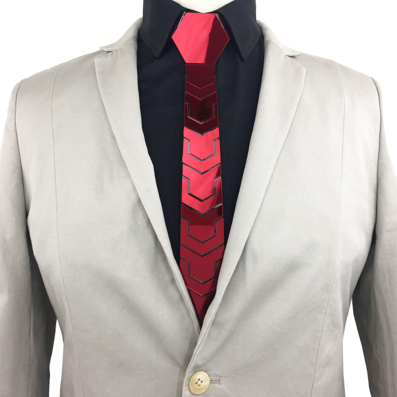 Fashion Belt Ties Set Vintage Pattern Necktie Skinny Slim Men Jewelry Accessories All Match Blazers Tie Red Bts Shirt