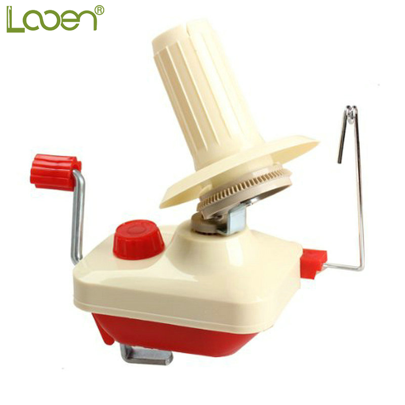 Looen Brand Swift woolen Yarn Fiber String Ball Wool Winder Holder Handheld hand Operated wire cable winding machine wholesale