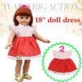 Первоначально Китай Кукла Ткань Подходит Для 18 дюймовых American Girl Кукла/BJD Куклы Сном Театр Рано Enducation Игрушки приветственный Подарок