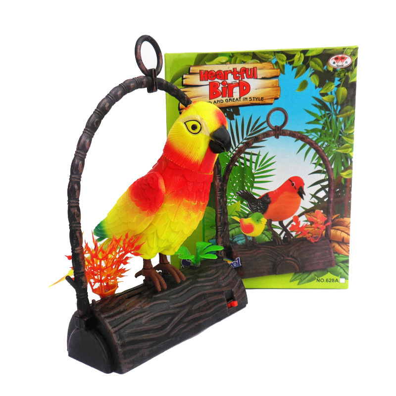 Electronic Pets Toys Solo Singing Sound Bird Pets Baby ...