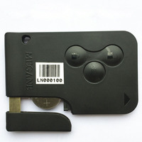 High Quality Uncut 3 Buttons 433MHz PCF7947 Chip Remote Key Fob For Renault Megane