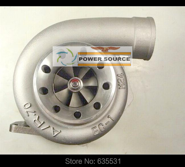 T78 Turbo Turbocharger Intake 4 inches oil cooled v-band compressor ar. 70 turbine ar .1.05 T4 flange Power 700-1000hp (2)