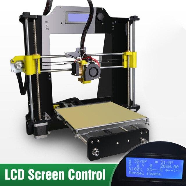5S LCD 3D printer 2015 new high quality prusa reprap I3 A602 kit mega 2560 DIY 3D printer kit prusa i3