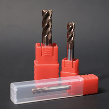 ZGT Metal Cutter Milling Tools HRC60 4 Flute Cnc Tungsten Steel Alloy Carbide Endmill 1mm 2mm 3mm 4mm 5mm 6mm 8mm