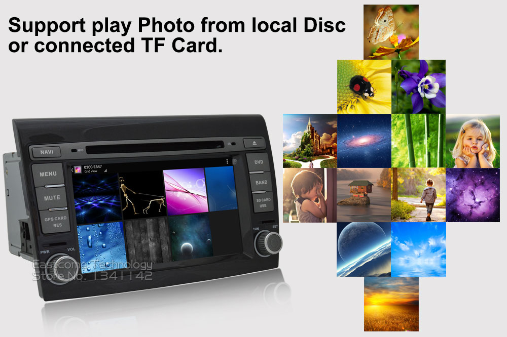 Cheap 1024*600 8 Cores Octa Core Pure Android 6.01 Car DVD Player For Fiat Bravo 2007 2008 2009 2010 2011 2012 With Rear View Camera 19