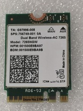 SSEA New For Intel Dual band Wireless AC 7265 7265NGW 802.11ac 2 x 2 WiFi + Bluetooth 4.0 867Mbps NGFF card SPS 756749-001 OA
