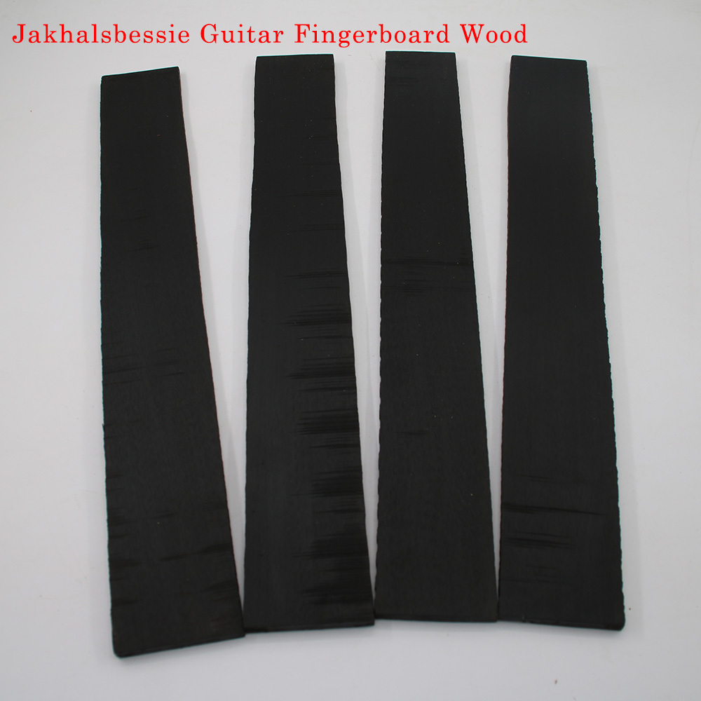 Jakhalsbessie African Ebony Fingerboard For Classical Guitar Electric Guitar Acoustic Guitar Fingerboard Making Wood Material two way regulating lever acoustic classical electric guitar neck truss rod adjustment core guitar parts