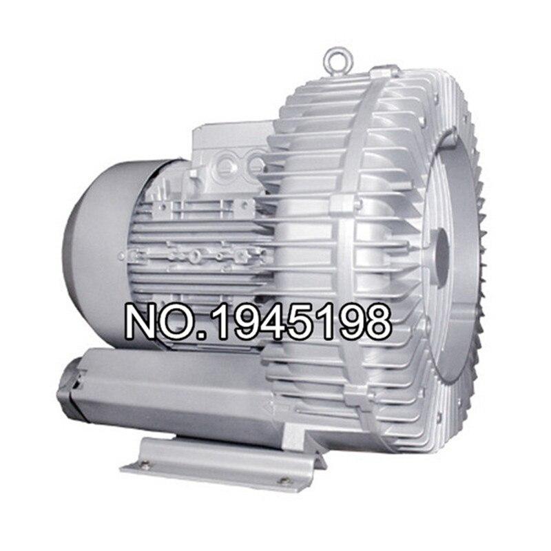 2RB810-7AH07 4.3KW high pressure high capacity air flow industrial ring blower vacuum pump flow ristrictor air booster 25