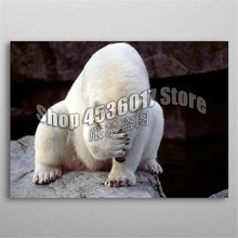 Full 5D DIY Diamond Painting Polar Bear Animals Embroidery Cross Stitch Mosaic Rhinestone Home decoration