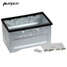 Тыквы Установка Универсальный фасции Рамки для 2 DIN Android dvd-плеер автомобиля Радио для Volkswagen/Гольф/Мужские поло /MK3/Jetta Nissan