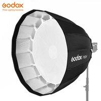 Godox P90H 90 см Глубокий параболический Bowens крепление портативный софтбокс для студийной вспышки фотостудии