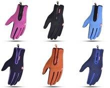 60 paren/partij winter warm touch screen handschoenen. Ski handschoenen