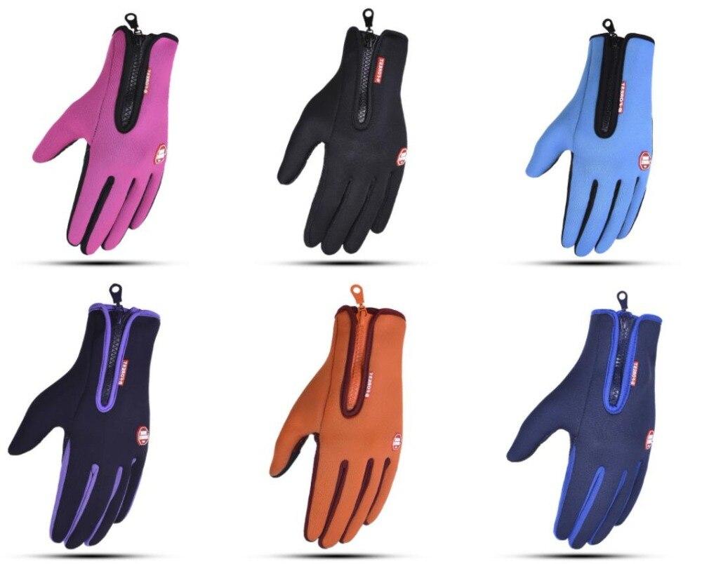 60pairs/lot winter warm screen touch gloves. ski glovesMens Gloves   -