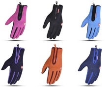 60pairs/lot winter warm screen touch gloves. ski gloves