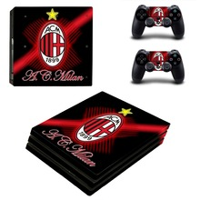 AC Milan Football Team PS4 Pro Skin Sticker Vinyl Decal Sticker