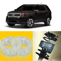 2pcs Super Power Front Shock Absorber Coil Spring Cushion Buffer For Ford Explorer