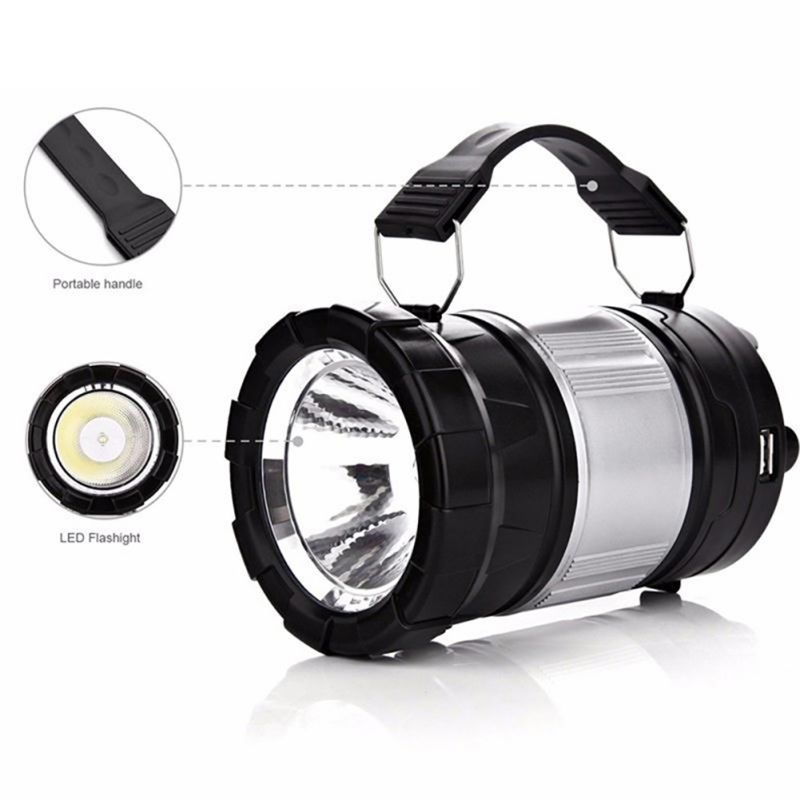 Multifunction Outdoor LED Camping Lantern Handheld Flashlights, Outdoor Travel Gear Equipment For Hiking, Camping Supplies
