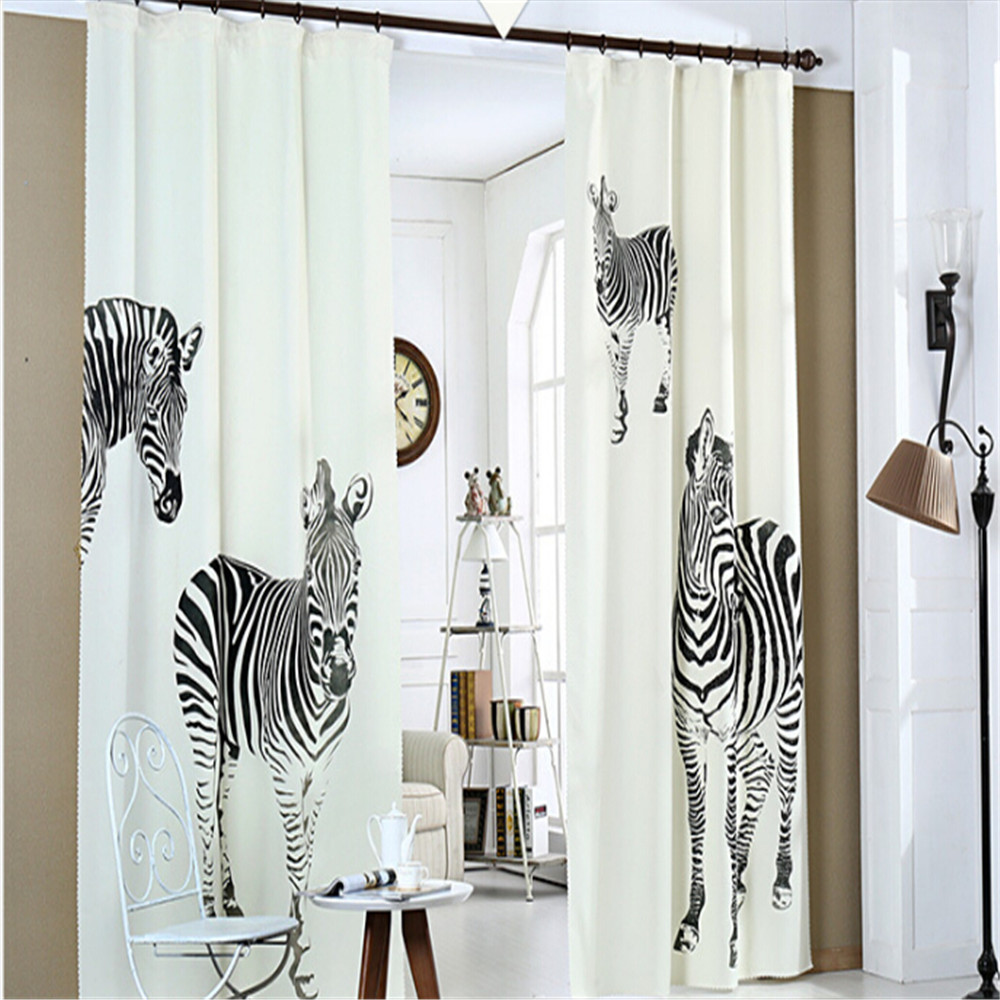 popular zebra window curtains buy cheap zebra window curtains lots